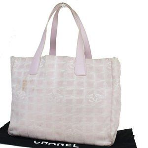 Chanel New Travel Line MM Coco Mark Jacquard